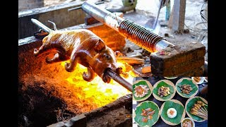 How BABI GULING (SUCKLING ROASTED PIG) is made - Bali's most famous dish!