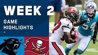 Panthers vs. Buccaneers Week 2 Highlights | NFL 2020