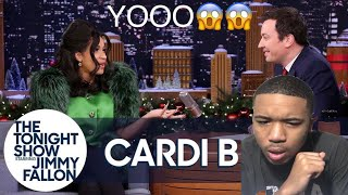 JIMMY INTERVIEWS CARDI B | THIS WOMAN IS HILARIOUS!! *reaction*