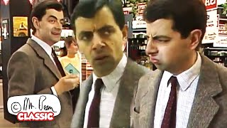 Shopping Bean | Mr Bean Funny Clips | Classic Mr Bean