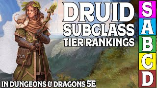 Druid Subclass Tier Ranking in Dungeons and Dragons 5e
