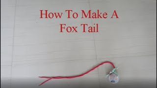 How To Make A Fox Tail |HP Games