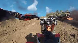 Ashdown farm mx track Oxford 11/02/18 - Running in the engine