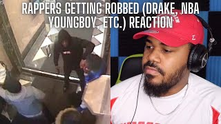 RAPPERS GETTING ROBBED (Drake, NBA Youngboy, Lil Mosey, 2 Chainz) REACTION