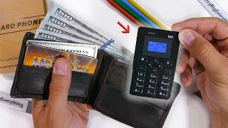 This phone fits in a WALLET! - Durability Test!