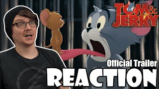 TOM & JERRY - Official Trailer Reaction!
