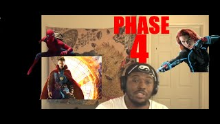 Marvel Phase 4 trailer (reaction) will this be the best phase yet?