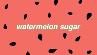Watermelon Sugar by Harry Styles Cover
