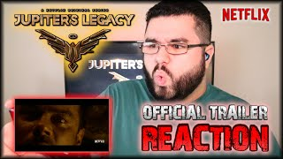 Jupiter's Legacy | Netflix Official Trailer REACTION