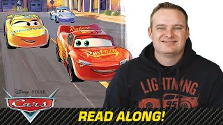 Read Along with NASCAR Driver Cole Custer | For the Love of Racing | Pixar Cars