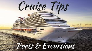 Cruise Tips: Ports & Excursion (Cruise Line vs Outside Excursions)