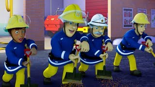 Fireman Sam New Episodes | Ice Hockey Meltdown! - Best Teamwork Saves | Season 10 🚒 🔥 Kids cartoon