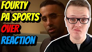 💯OHRWURM ! FOURTY X PA SPORTS - OVER (prod. by Chekaa) | Reaction