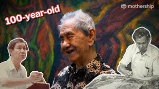 Meet Singapore's oldest living artist | Legit Old