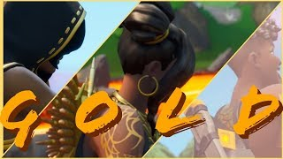 G O L D . .  (Fortnite Montage) Complete Collection