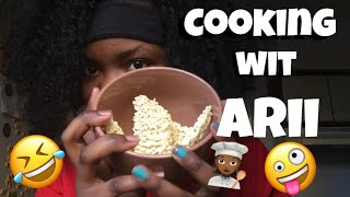 COOKING WITH ARII!!!