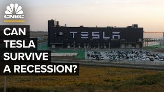 Why Tesla Is Better Positioned To Survive Than Other Automakers