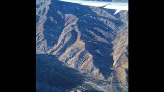 Amazing flight view! Big Nature! Great mountain view over Mongolia from the SKY!