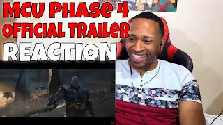 Marvel Studios - Official MCU Phase 4 Trailer REACTION | DaVinci REACTS