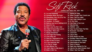 Air Supply, Lionel Richie, Phil Collins, Chicago, Rod Stewart, Bee Gees - Best Soft Rock 70s,80s,90s