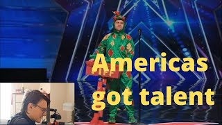 Hilarious Magic dragon on Americas got talent