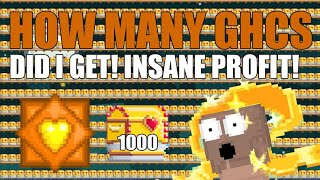 BREAKING 1000 SUPER GOLDEN BOOTY CHESTS! AUTO GHC?! OMG!! - Growtopia