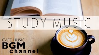 Cafe Music For Study - Relaxing Jazz & Bossa Nova Music - Background Instrumental Music