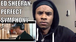 Ed Sheeran - Perfect Symphony (with Andrea Bocelli)-Reaction