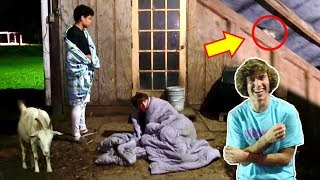 Loser Sleeps In The Barn!