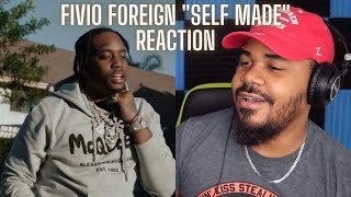 Fivio Foreign - Self Made (Official Video) REACTION
