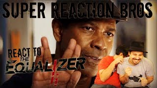 SRB Reacts to The Equalizer 2 Official Trailer 2