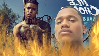 Reacting to NARROW ROAD by NLE Choppa ft Lil Baby (Other Side of NLE Choppa!!!)
