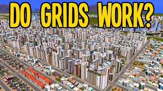 "Is a Perfect ""Grid"" City with no Traffic Possible in Cities Skylines?"