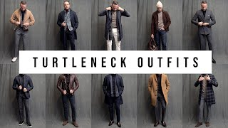 10 Different Turtleneck Outfits | Ways To Wear A Turtleneck