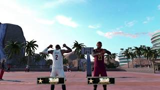 Playing in mypark as Lebron with kyrie?!?!?!