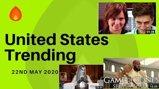 Trending Videos at United States on 22nd May 2020