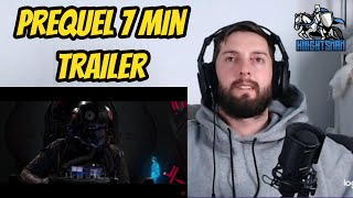 Star Wars Squadrons: 'Hunted' Cinematic Campaign Prequel Trailer Reaction