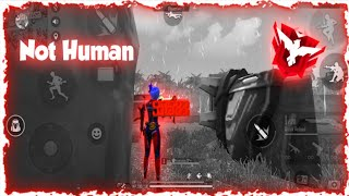 NOT HUMAN|5 minutes of Satisfaction💯 |K-391 and Alan Walker Inigite| FreeFire