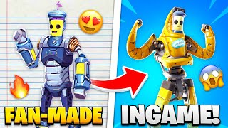 15 Fortnite Items CREATED By Fans