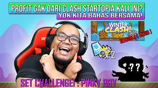 Profit Clash Startopia & Bikin set Pinky Boy | dZodiaCz Growtopia Indonesia