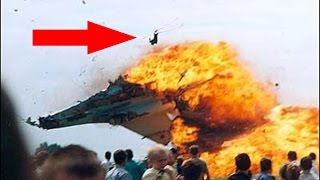 🎥 Most terrifying Airplane Crashes ever caught clearly on a video camera