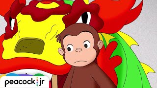 Happy Chinese New Year 🐵Curious George 🐵Compilation 🐵Kids Movies 🐵Videos for Kids