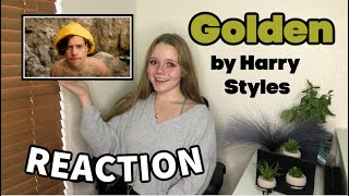 Harry Styles - Golden (Official Video) REACTION!