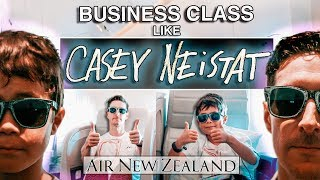 BUSINESS CLASS like CASEY NEISTAT on AIR NEW ZEALAND