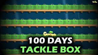 100 DAYS for Harvesting TACKLE BOX! | GrowTopia
