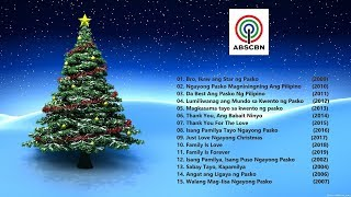 ABS CBN Christmas Songs  Christmas Station ID Non Stop Compilation (2002 -2019) OPM Songs