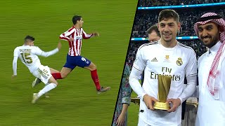 Fede Valverde vs Atletico Madrid | ( Spanish Super Cup - Final ) 2020 HD 1080i