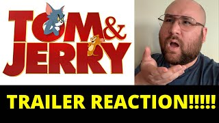 TOM & JERRY - Official Trailer - REACTION!!!!!