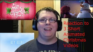 Reacting to 3 Short Christmas Animations (Reaction Week 16 Ep 7)