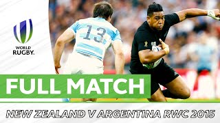 New Zealand v Argentina | Rugby World Cup 2015